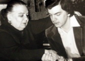 Юлия Лордкипанидзе с учеником Сергеем Захаровым